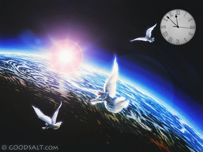 angels, earth, clockpsd